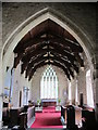 NY9393 : St. Cuthbert's Church, Elsdon - chancel by Mike Quinn