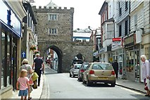SX3384 : The South Gate, Launceston by Mike Smith