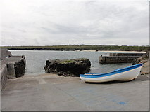 NB5363 : Boat at Port of Ness by Mat Tuck