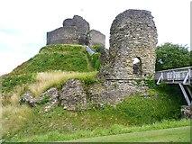 SX3384 : Launceston Castle by Mike Smith