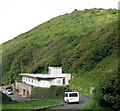 SS6949 : Road to the beach 3-Lee Abbey, North Devon by Martin Richard Phelan