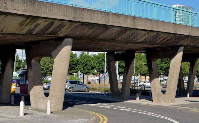 Station Street/Bridge End flyover, Belfast (2 in 2013)