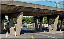 J3474 : Station Street/Bridge End flyover, Belfast (2 in 2013) by Albert Bridge