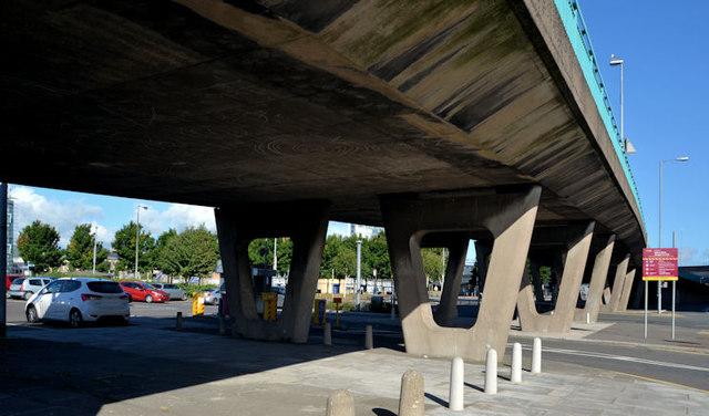 Station Street/Bridge End flyover, Belfast (4 in 2013)