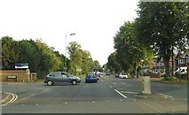 SP4539 : The junction of Oxford Road and Hightown Road by Steve Daniels