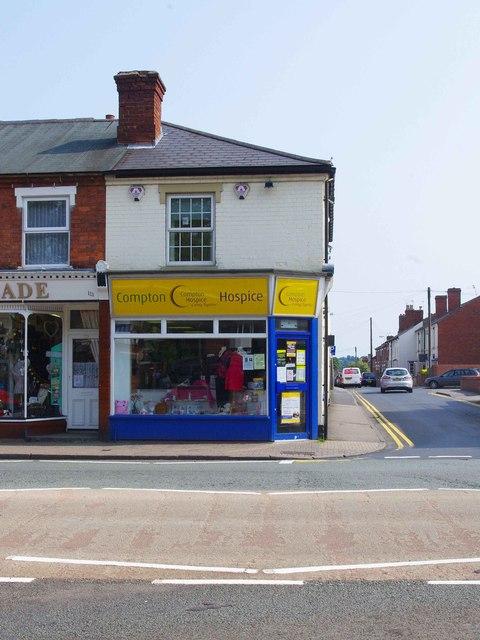 Compton Hospice charity shop, 113 Bridgnorth Road, Wollaston, Stourbridge