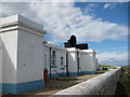 NZ9210 : Whitby's former foghorn station by Pauline E