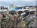 NZ2463 : Newcastle Central by Gareth James