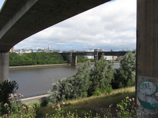 River Tyne bridges, Newcastle