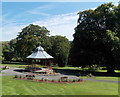 SO1408 : Bedwellty Park bandstand, Tredegar by Jaggery