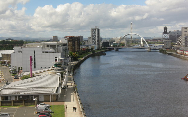 The River Clyde from the Kingston Bridge