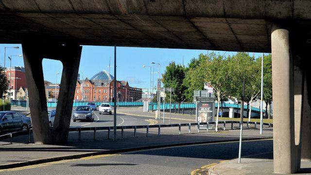 Station Street/Bridge End flyover, Belfast (7 in 2013)