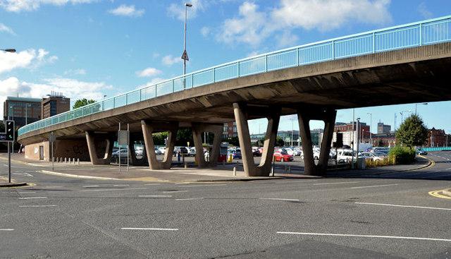 Station Street/Bridge End flyover, Belfast (8 in 2013)