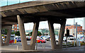 J3474 : Station Street/Bridge End flyover, Belfast (9 in 2013) by Albert Bridge