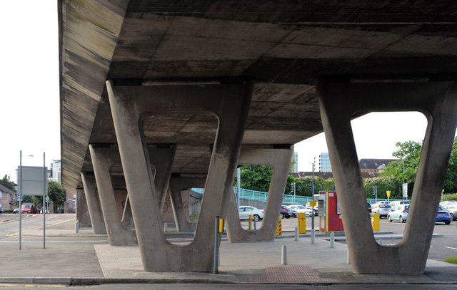 Station Street/Bridge End flyover, Belfast (10 in 2013)