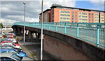 J3474 : Station Street/Bridge End flyover, Belfast (12 in 2013) by Albert Bridge