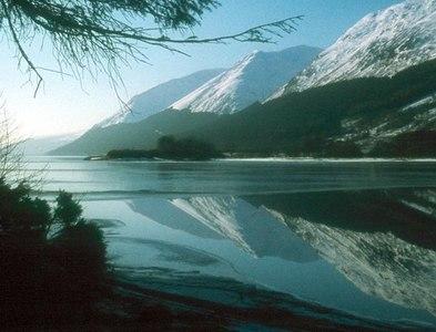 NN2794 : Reflections on Loch Lochy by Alan Reid