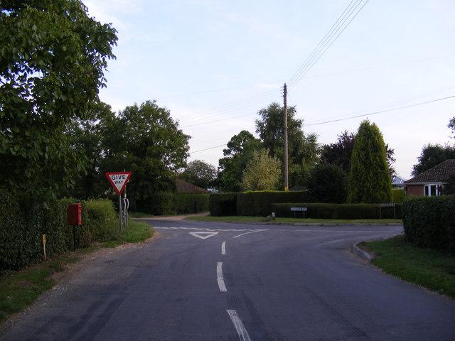 Common Road & The Common Postbox