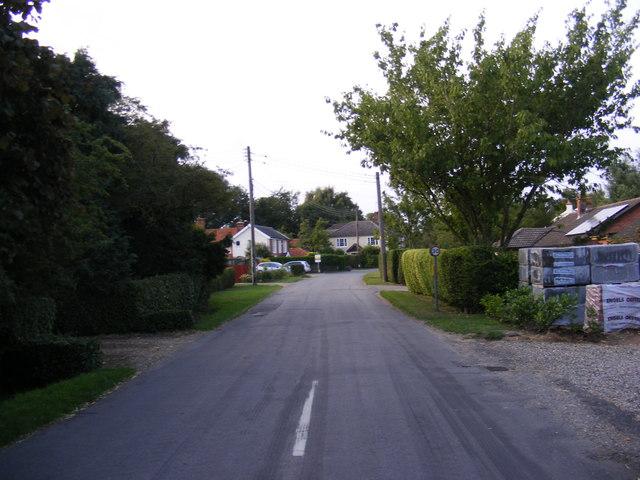 Common Road, Bressingham