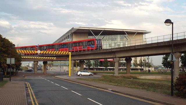 Dockside Road, Royal Albert Dock