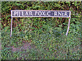 TM0881 : Pillar Box Corner sign by Adrian Cable