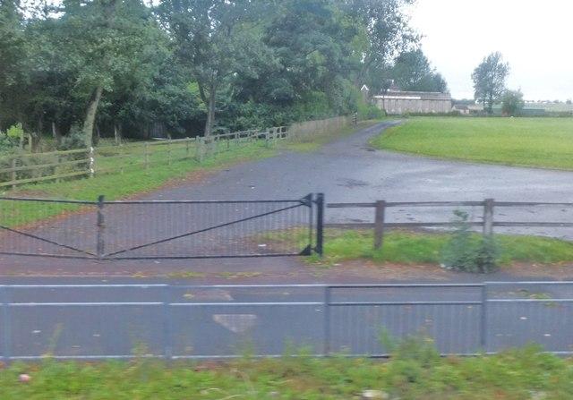 Service road, Town Moor
