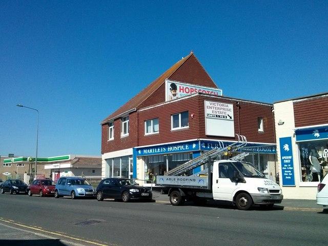 Martlets Hospice Shop, South Coast Road, Newhaven