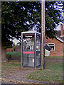 TM0981 : Bressingham Telephone Box by Adrian Cable