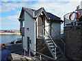 NU2232 : The Harbour Office, Seahouses by Bill Henderson