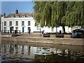 TL5479 : The quayside at Ely by Rose and Trev Clough