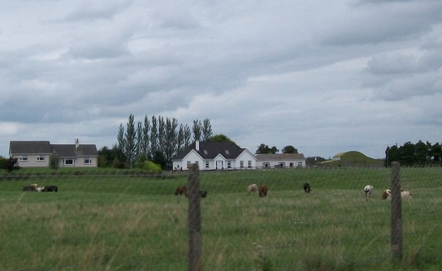 Recently built farmhouse north of the N52 at Bunaterin, Co Offaly