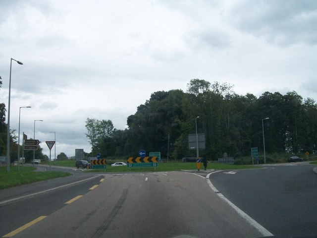 The Charleville Roundabout on the N52 outside Tullamore, Co Offaly