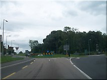 N3222 : The Charleville Roundabout on the N52 outside Tullamore, Co Offaly by Eric Jones