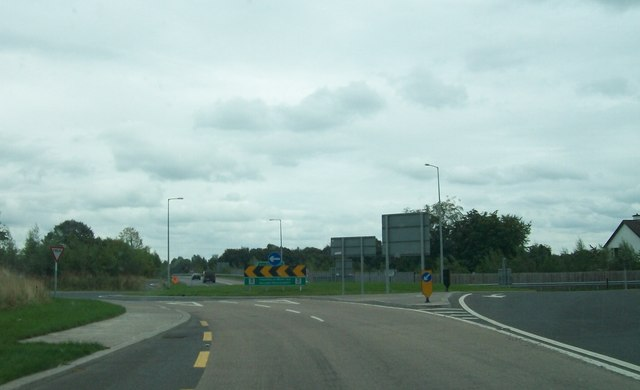 Ballard Roundabout on the N52 south-west of Tullamore