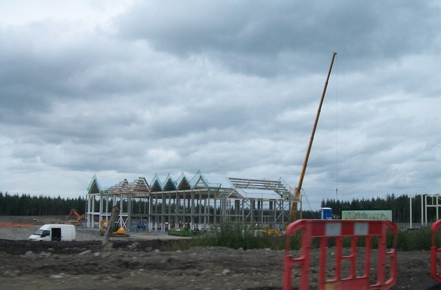 New Tullamore Dew factory under construction