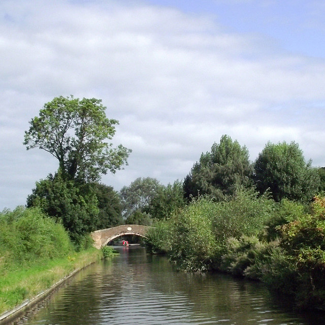 Staffordshire and Worcestershire Canal near Stafford