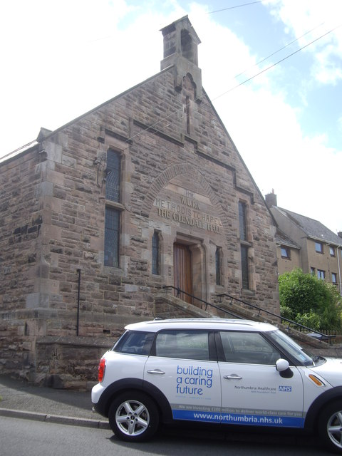 A church hall in Wooler
