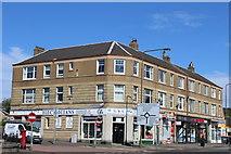 NT1972 : Shops & Housing, Glasgow Road, Edinburgh by Leslie Barrie