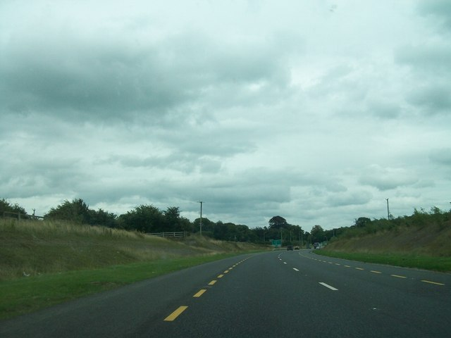 The N52 west of the Charleville Roundabout