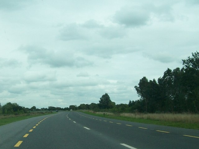 The Tullamore Bypass in the Townland of Clonminch