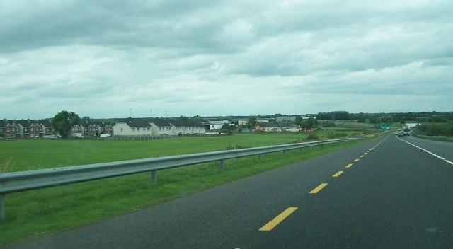 New housing estates in the Cloncollog area of Tullamore