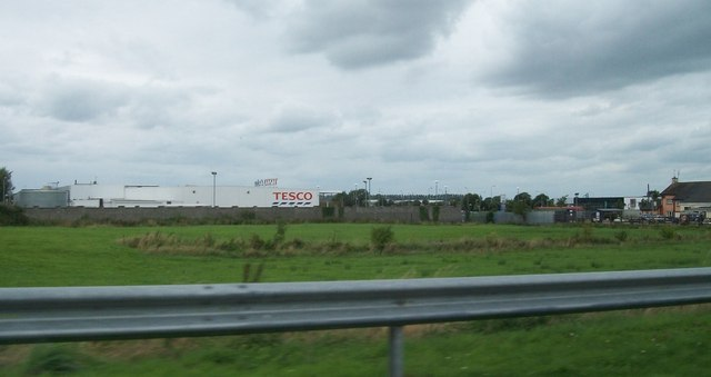 Tesco Extra Store at the Tullamore Business Park