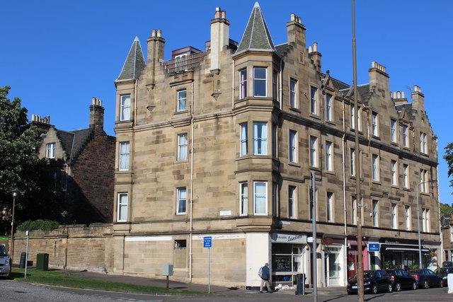 Corner of Murrayfield Avenue & Murrayfield Place, Edinburgh