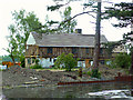 TL4862 : Wildfowl Cottage during restoration (2006) by Rose and Trev Clough