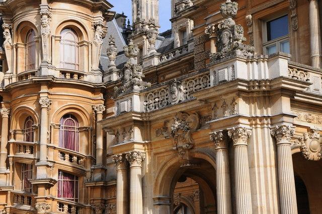 Ornate detail of Waddesdon Manor