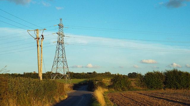 Stickfast Lane, near Kemsley