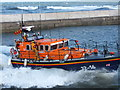 """NU2232 : The crew of """"Grace Darling"""" wave to the crowds on the pier by Barbara Carr"""