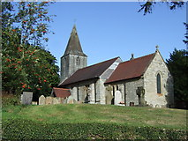 SK7160 : St Radegund's Church, Maplebeck by JThomas