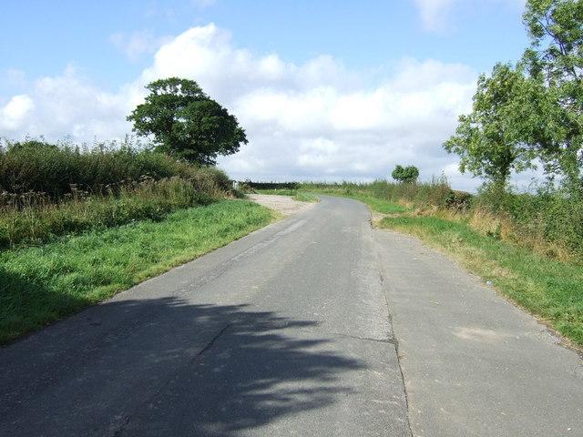 Road towards Winkburn