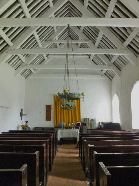 Nave of St Runius, Marown